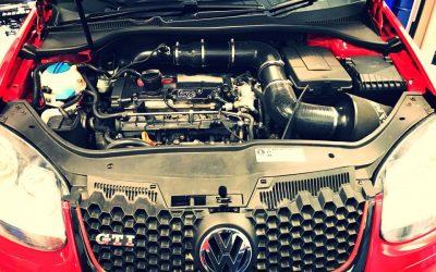 VW Golf suspension overhaul