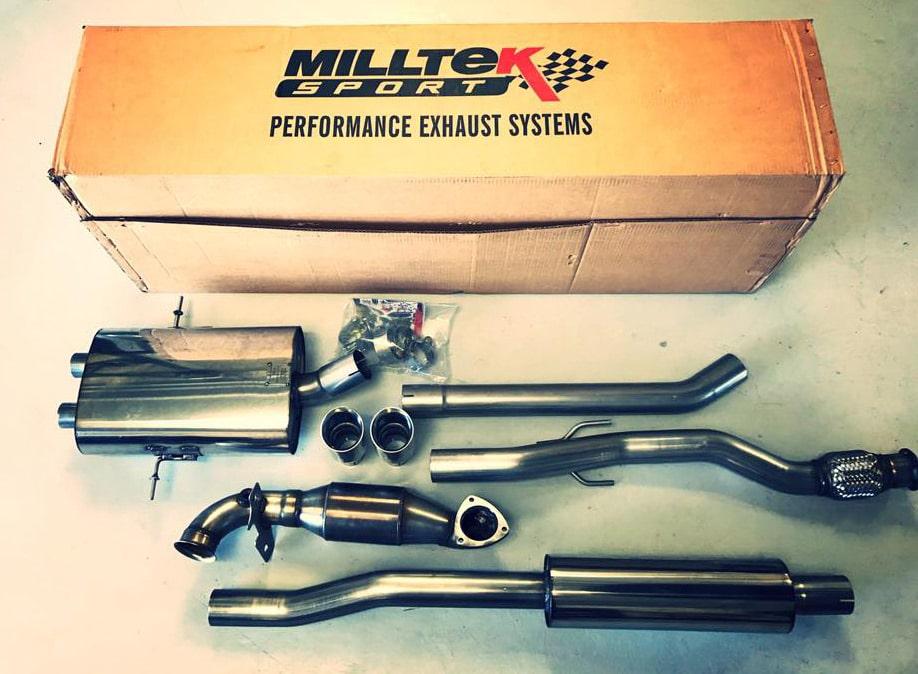 Mini Cooper S Milltek exhaust